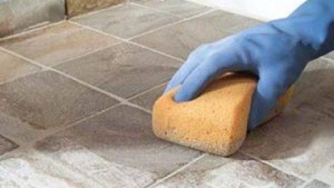 5 способов, как почистить плитку